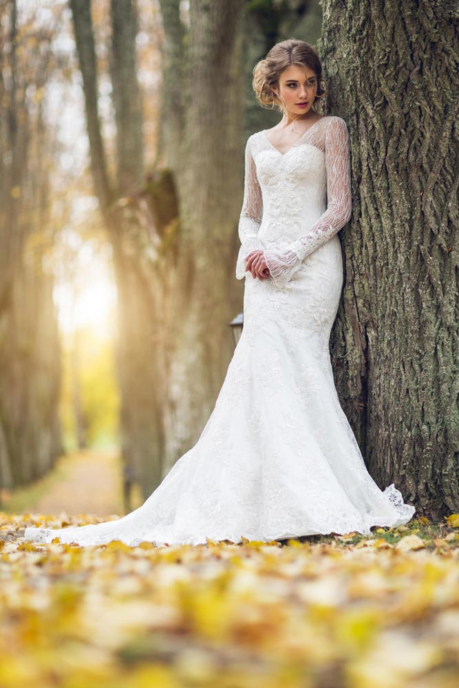 wedding dress Amber